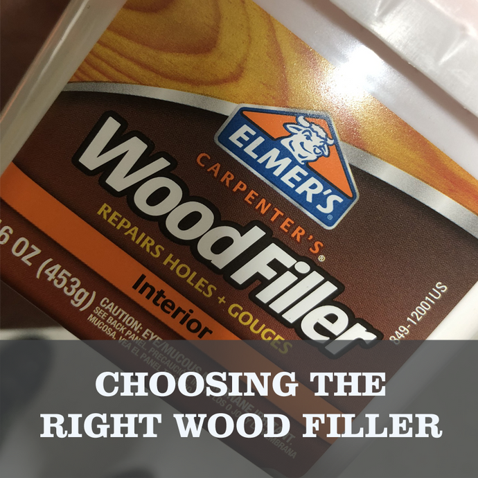 What kind of wood filler should you use?