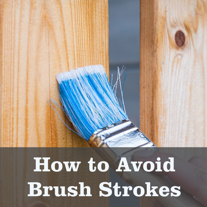 Avoid brush strokes when painting cabinets
