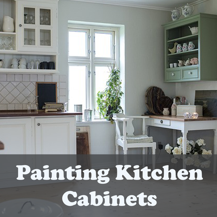 Painting Kitchen Cabinets - Complete Guide with Photos