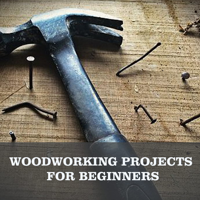 (5) EASY Woodworking projects for beginners