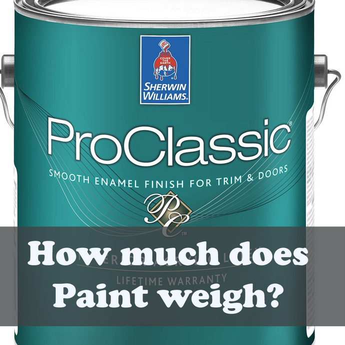 How much does Paint weigh?