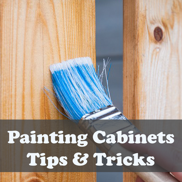 Paint your Kitchen Cabinets - Tips & Tricks