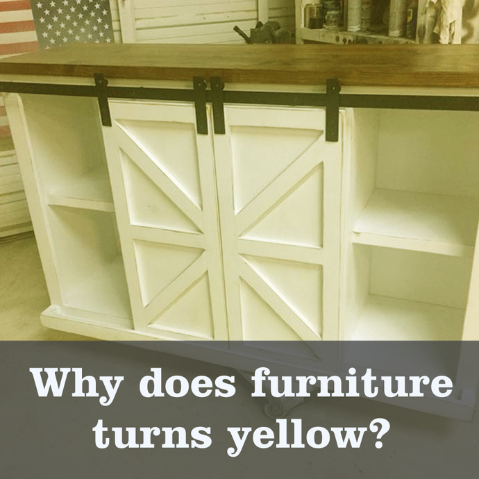 White Paint turning yellow?  Here's why