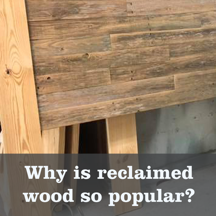 Using reclaimed wood for your project