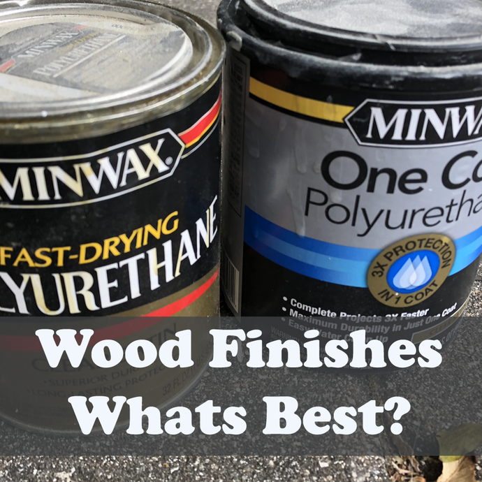 Which wood finish should I use?