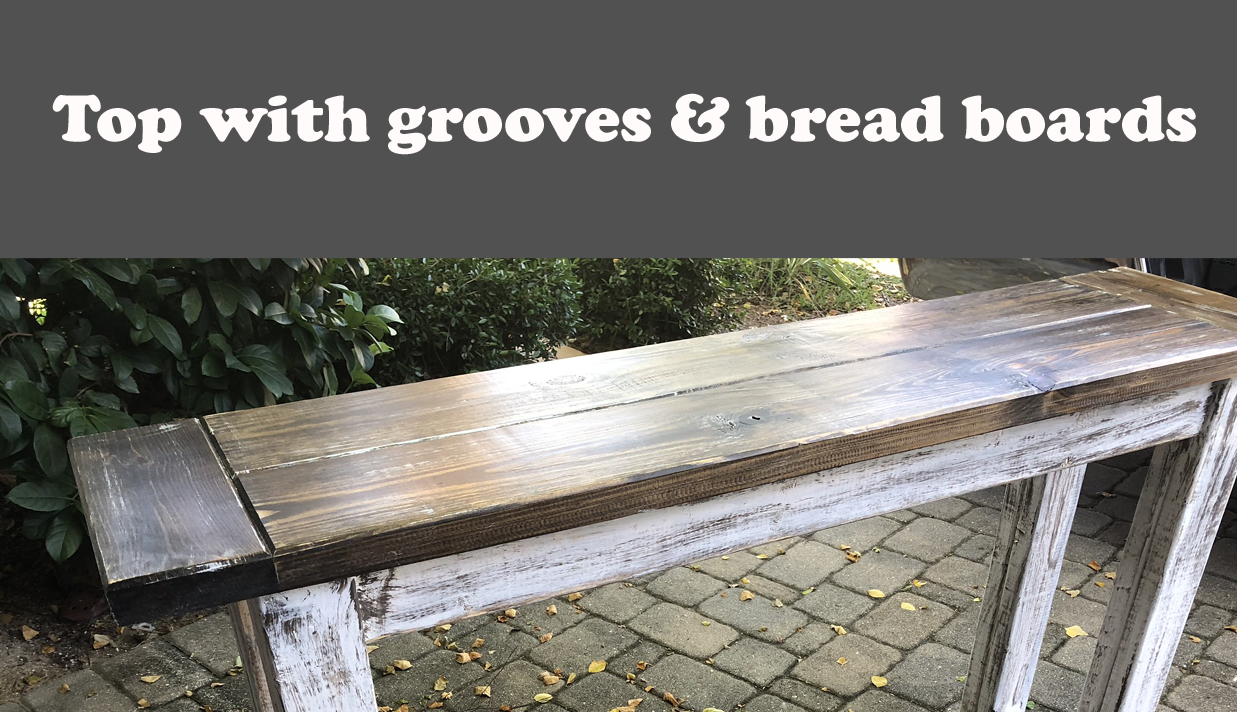 Bread Board & Groove top example