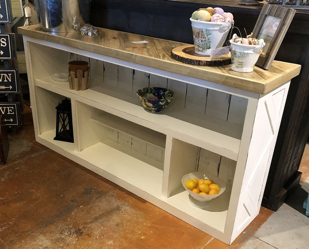 Pallet Style Console