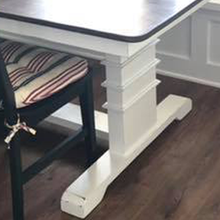 Load image into Gallery viewer, Fancy Trimmed Leg | Farmhouse | Farm Table