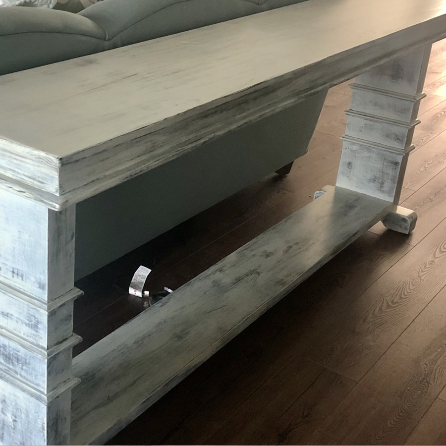 Sofa Table w/ trimmed legs