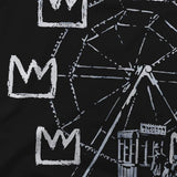 """Banksy Pays Cheap Homage To Superior Artist, Basquiat"" T-Shirt - Dark Matter Magazine"