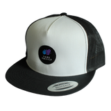 """On The Road Again"" Snapback Trucker Hat - Dark Matter Magazine"