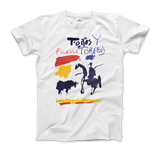 """Picasso Sketches Bull Ready To Win Unfair Fight"" T-Shirt - Dark Matter Magazine"