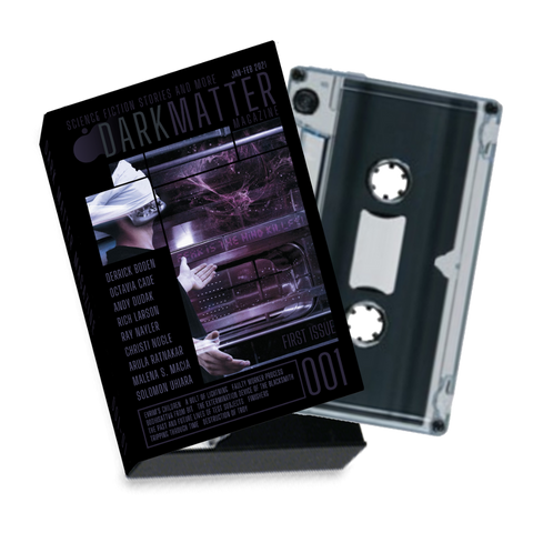 Dark Matter Magazine Issue 001 Audio Cassette - Dark Matter Magazine