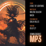 """A Bolt of Lightning"" Audible Story MP3 Download - Dark Matter Magazine"