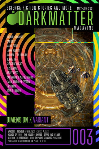 Dark Matter Magazine Issue 003B Variant - Dark Matter Magazine