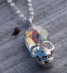 """If The Universe Hangs On My Neck, What Happens If I Jump?"" Pendant Necklace - Dark Matter Magazine"