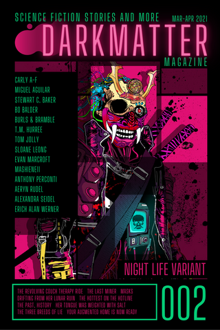 Dark Matter Magazine Issue 002A Variant - Dark Matter Magazine