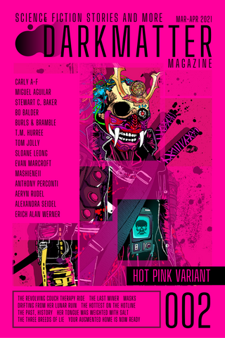 Dark Matter Magazine Issue 002B Variant - Dark Matter Magazine