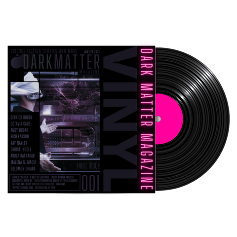 Dark Matter Magazine Issue 001 Vinyl Record - Dark Matter Magazine