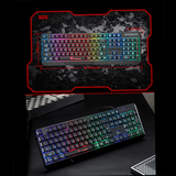 """RGB Makes Typing Fun"" Keyboard - Dark Matter Magazine"