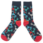 """Remember Birds?"" Retro Bird Socks - Dark Matter Magazine"
