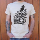 """Fantasy Abandon Of Reason Produces Monsters"" T-Shirt - Dark Matter Magazine"