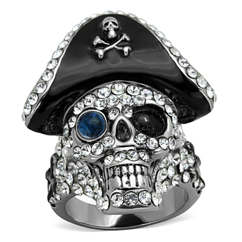 """Hip Hop Data Pirate"" Streetwear Ring - Dark Matter Magazine"