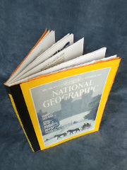Nov 80 Upcycled National Geographic Journal