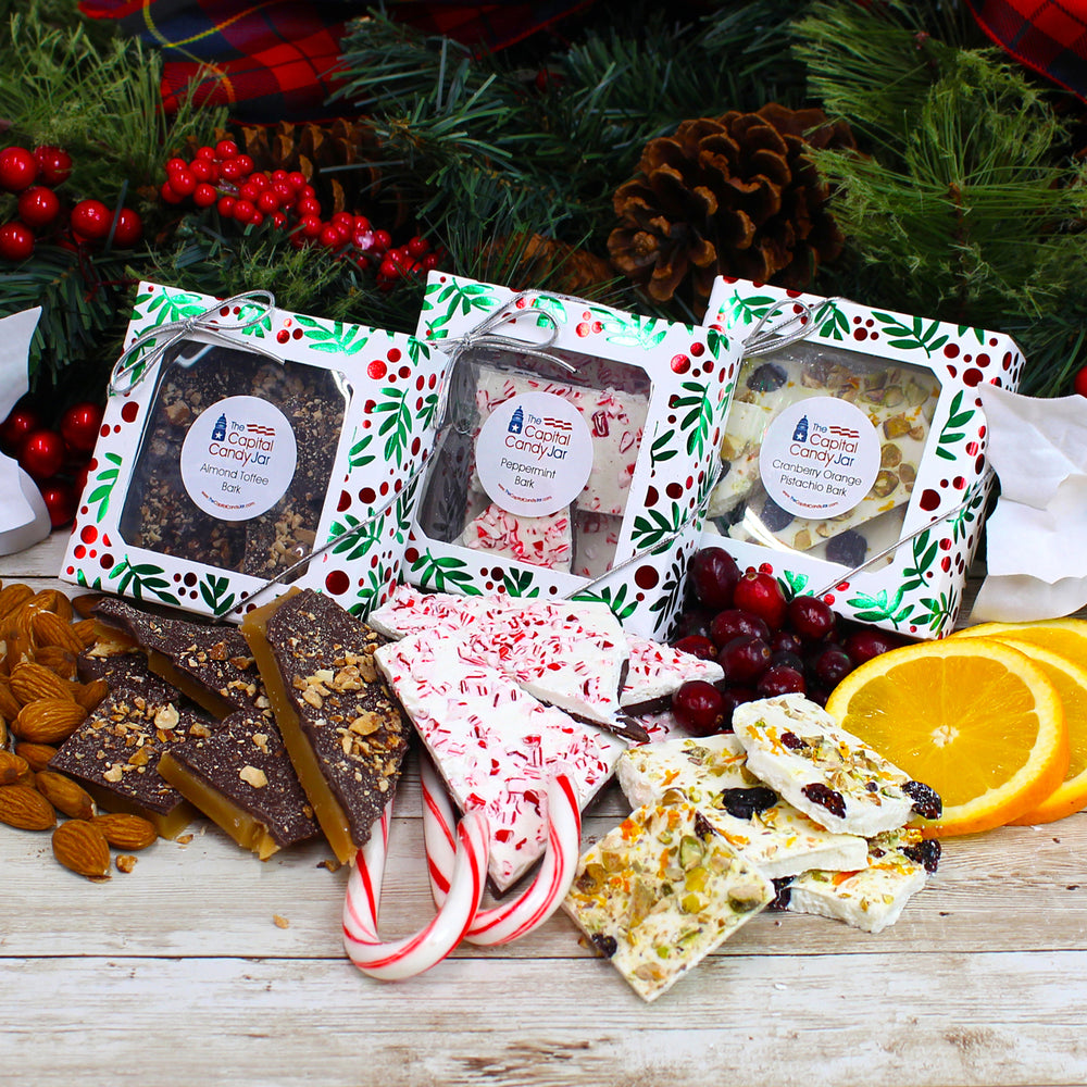 Bark-Holiday Assortment (3 Boxes-3oz Each)