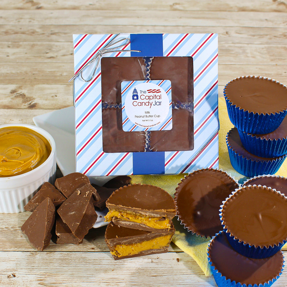Giant Peanut Butter Cups (4 cups)
