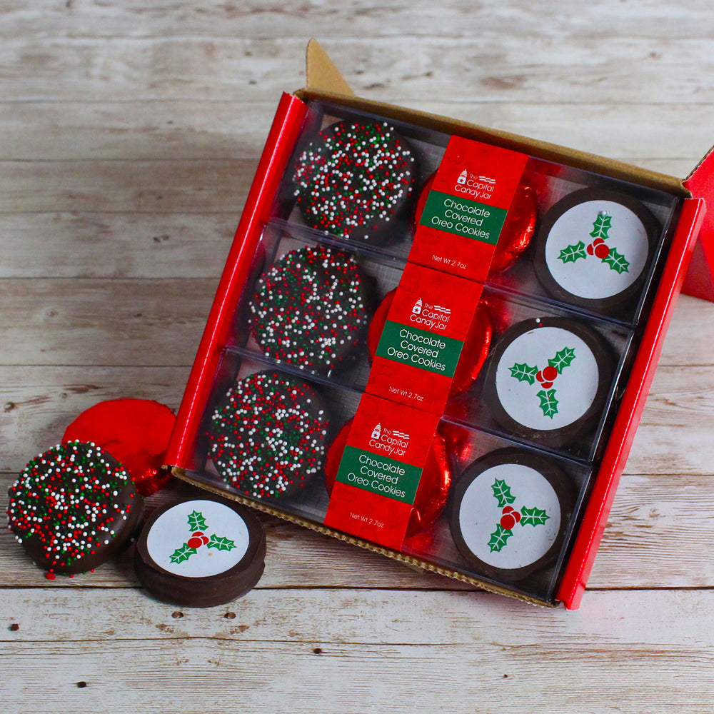 Chocolate Covered Oreos-Holiday (3 packages)