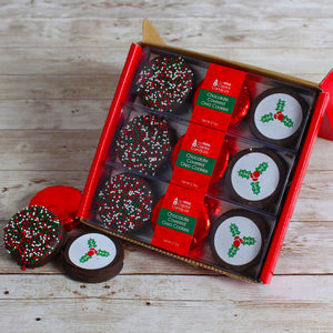 Load image into Gallery viewer, Chocolate Covered Oreos-Holiday (3 packages)