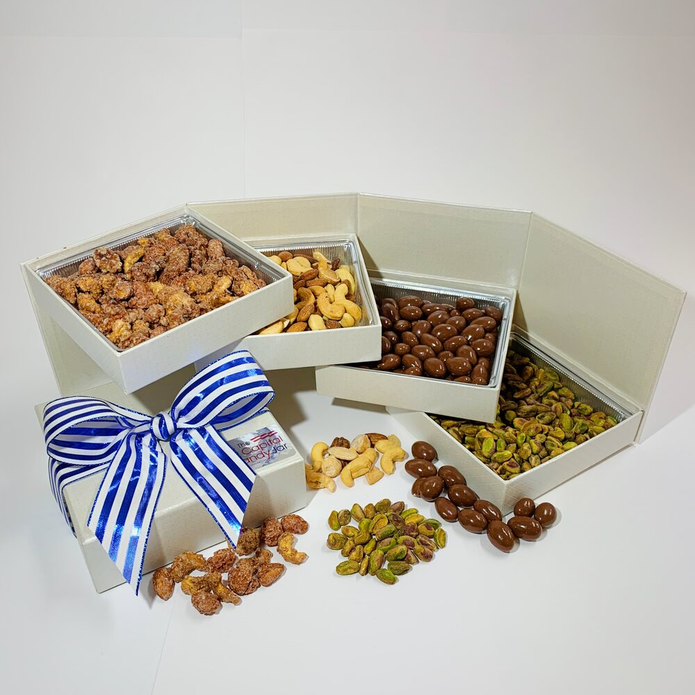 Load image into Gallery viewer, Gift Box-Premium Nut Gift (2lbs)