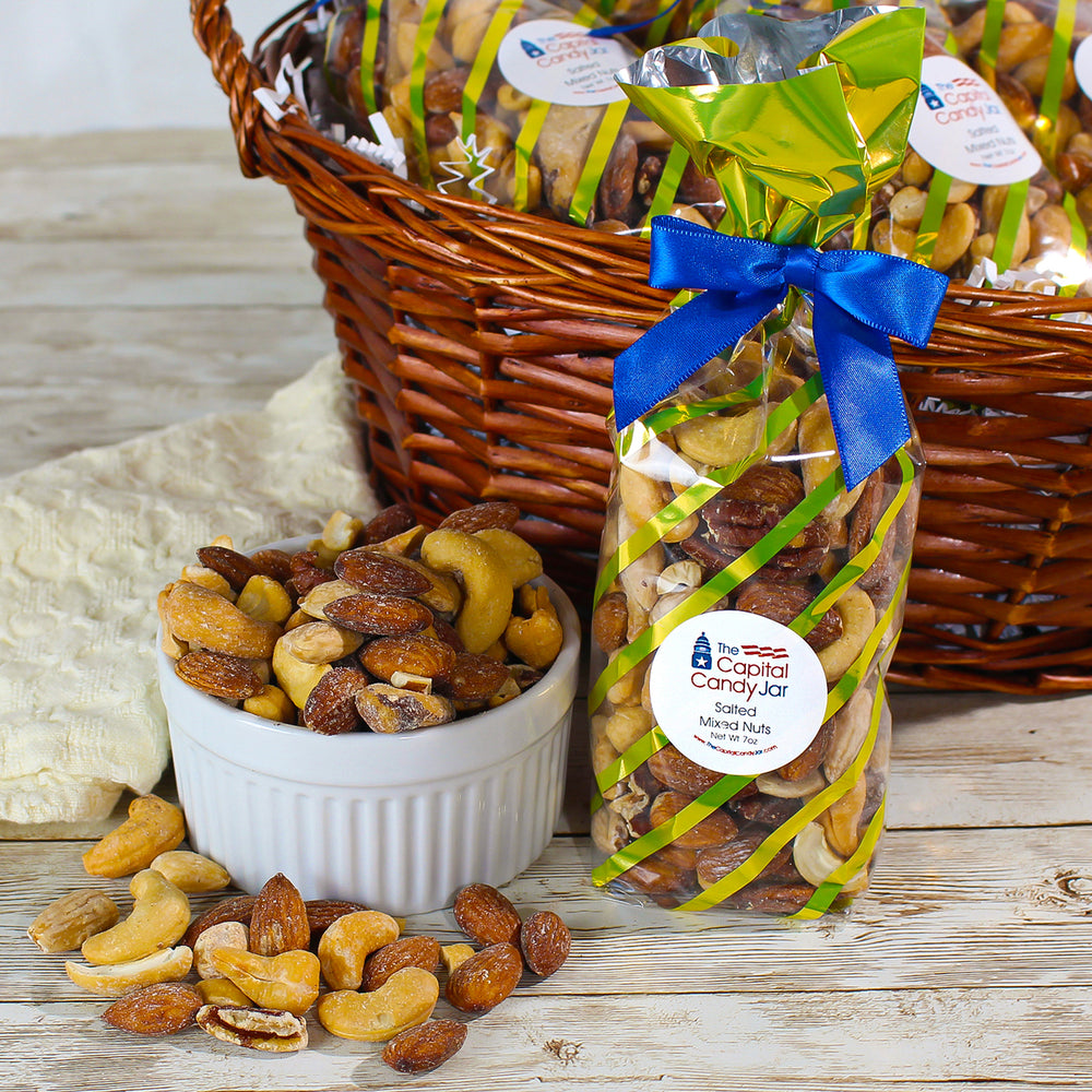 Salted Mixed Nuts (7oz Bag)