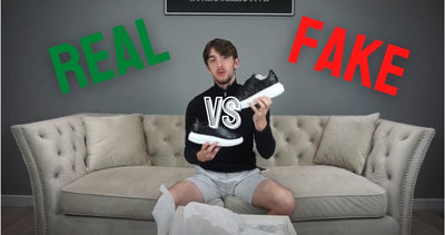 Real vs Fake: Alexander McQueen Oversized Sneakers