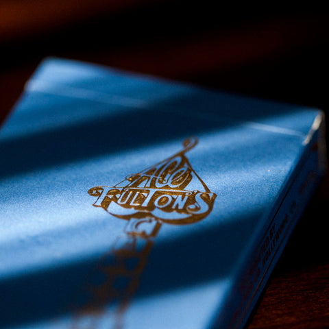 Ace Fulton's Casino Playing Cards - Cowboy Denim