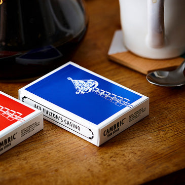 Ace Fulton's Casino Playing Cards Classic Ed. - Blue- AVAILABLE on artofplay.com