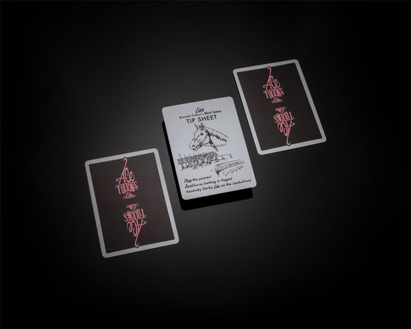 Ace Fulton's Casino Playing Cards - Femme Fatale - AVAILABLE at artofplay.com