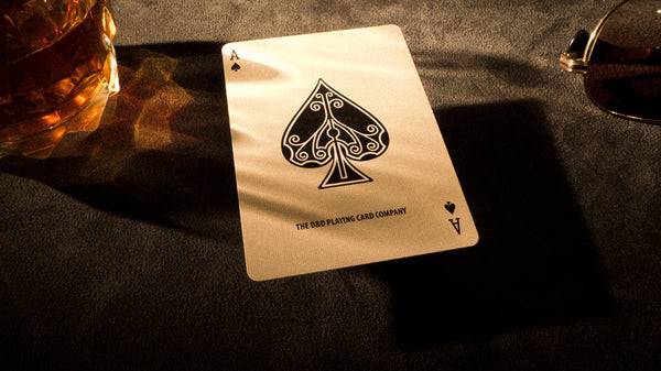 Ace Fulton's Casino Playing Cards - Tobacco Brown - SIGNED