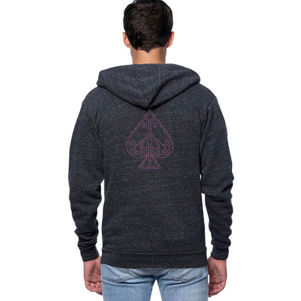 Ace Fulton's Casino Hoodie - Charcoal Heather