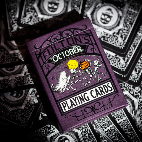 Fulton's October Playing Cards - AVAILABLE at artofplay.com