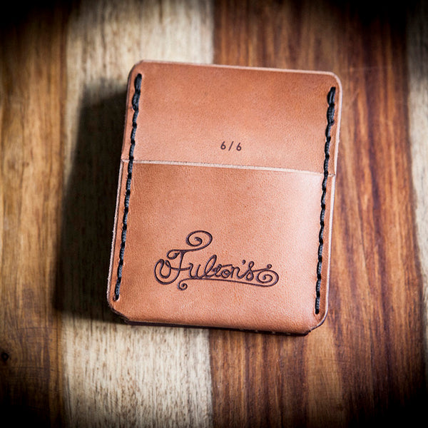 Fulton's October Limited Edition Playing Card Wallet (Natural)
