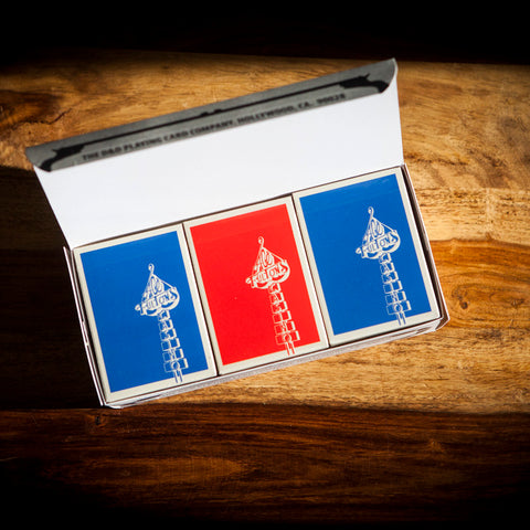 V1 ACE FULTON'S DODGER BLUE & RED HOT DEADSTOCK BRICK BOX