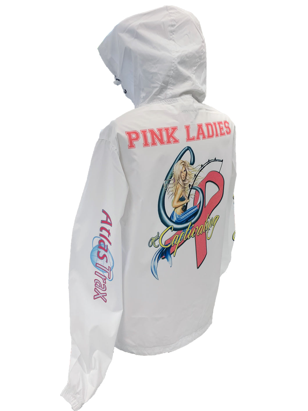 Unisex Pink Ladies Windbreaker