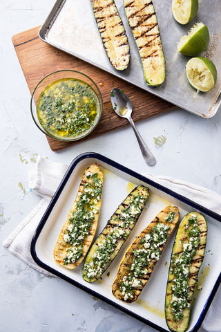 Grilled recipes: Zucchini, photo credits to Andrew Celbulka