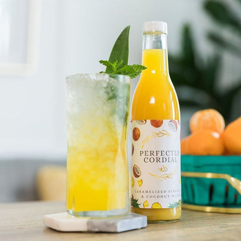 Perfectly Cordial Pineapple Coconut Water