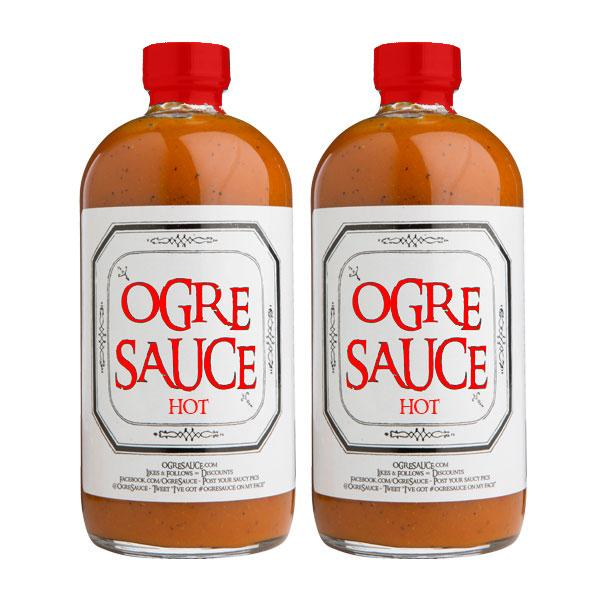 Ogre Sauce HOT 2-Pack