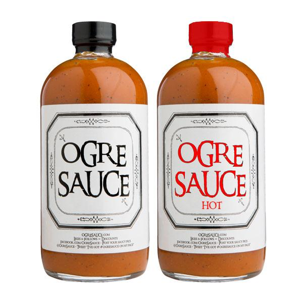 Ogre Sauce HOT & NOT 2-Pack