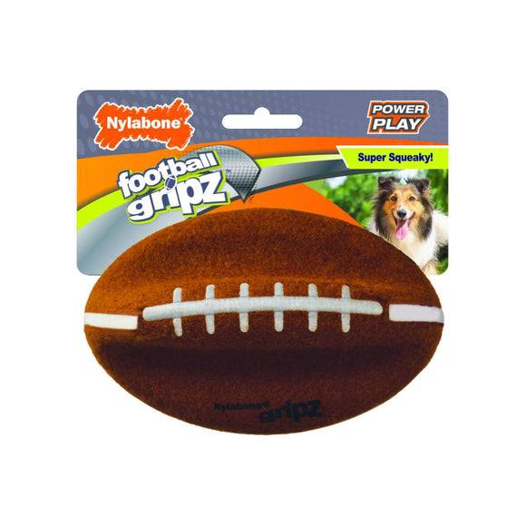 Nylabone Power Play Dog Football Gripz