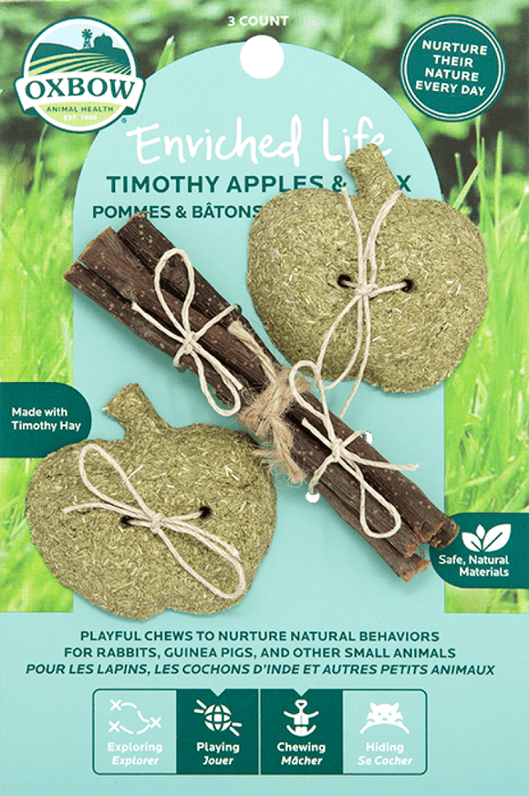 Oxbow Enriched Life - Timothy Apples & Stix